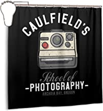 ENXIANGXIJ Waterproof Polyester Fabric Shower Curtain Academies Life is Strange Max Caulfields Photography Print Decorative Bathroom Curtain with Hooks,72