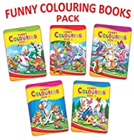 Funny Colouring Books - (5 Titles)