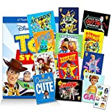 Toy Story Room Decor Poster Set ~ Disney Toy Story 4 Wall Poster Bundle Includes 12 Posters Featuring Buzz, Woody, Forky, and More with Stickers (Toy Story Bedroom Decorations for Boys and Girls)