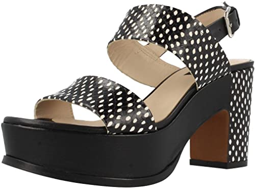 Zinda Sandales, Couleur Noir, Marque, modèle Sandales 2098Z Noir