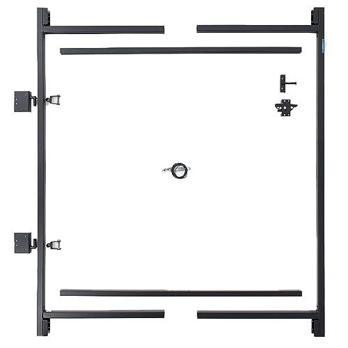 "Adjust-A-Gate Steel Frame Gate Building Kit (60""-96"" wide openings, 5' - 6' high fence)"
