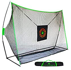DRIVING RANGE at HOME - Our nets are designed for the everyday player to be used at home to train and practice all year round. Take swings with your Driver, Woods, Irons, and Wedges. HEAVY DUTY - Highest Quality Net / Fabric on Amazon along with the ...