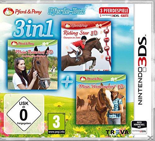 3 in 1 - Pferd & Pony Pferde-Box (Riding Star/Mein Reiterhof 3D/Mein Westernpferd 3D)