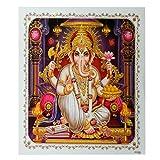 Bild Ganesha 54 x 54 cm Gottheit Hinduismus Kunstdruck