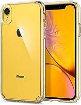 Spigen Coque iPhone XR [Ultra Hybrid] Transparente, Protection Coin AIR Cushion, Bumper Renforcé en Silicone, Dos Rigide en PC Compatible avec iPhone XR