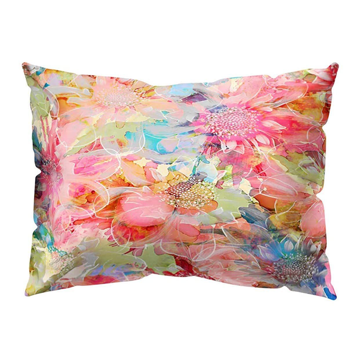 素晴らしい良い多くの例外認知[フェデルム]ポリエステルピーチスキン枕カバー美しい枕カバー30×50家の装飾(多色5)