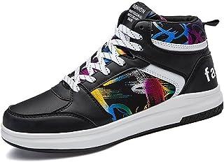494f8476 Yajie-shoes Zapatillas Altas de Moda para Hombre Zapatillas de Baloncesto  de Hip-Hop