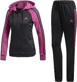 237b272722c0 adidas Re-Focus - Chándal para Mujer, Color Negro y Rosa