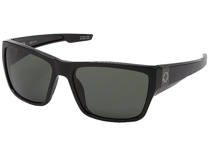 Spy Optic Dirty Mo 2 (Black/HD Plus Gray Green) Sport Sunglasses