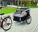 Premium Fahrradanhänger Hunde Hundefahrradanhänger Fahrrad Anhänger Bis 40 KG belastbar