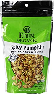 Eden Organic Spicy Pumpkin Seeds, 4 oz