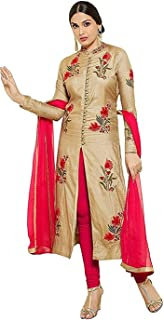 India's Lifestyle Winter Special Offer Women's Cotton Semi-stitched Salwar Suit (Free Size Upto XXL) (Premium Quality)