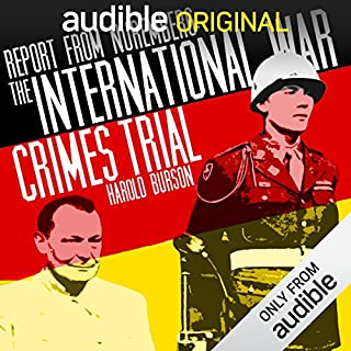 Report from Nuremberg audiobook cover art