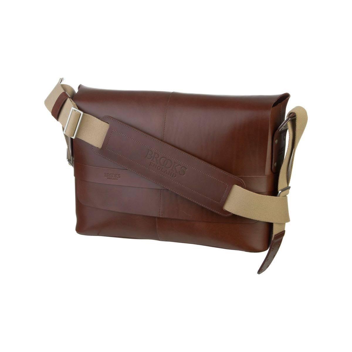 Brooks England Barbican Leather Shoulder Bag