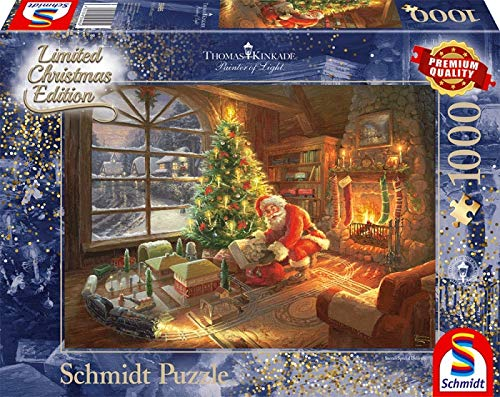 Schmidt Spiele 59495 Pz. Der Weihnachtsmann ist da 1000T