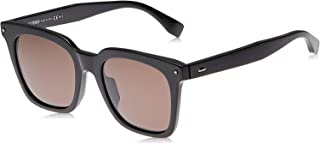 Fendi FF 0216/F/S 80769 Wayfarer Sunglasses for Women - Brown lens, FF 0216/F/S 80770