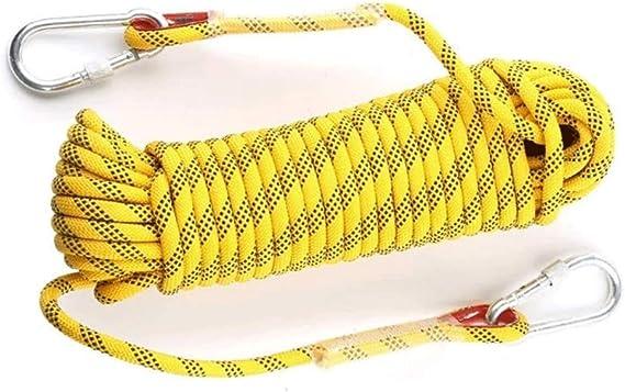 ZHome Cuerda De Escalada, Cuerda De Seguridad, con 2 ...