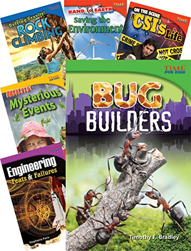 TIME FOR KIDS® Nonfiction Readers STEM Grade 4, 10-Book Set