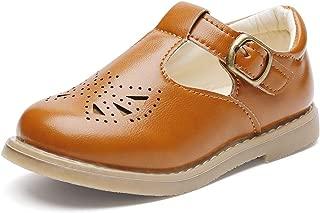 brown toddler dress shoes girl