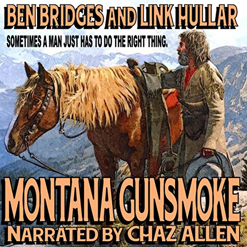 Montana Gunsmoke audiobook cover art