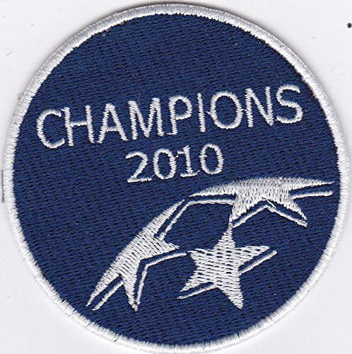 [Patch UEFA Champions League 2010 diámetro CM 7,5 parche bordado Replica -1033