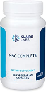 Klaire Labs Mag Complete - Premium Magnesium Complex with Four Bioavailable Forms of Magnesium - Magnesium Supplement with...