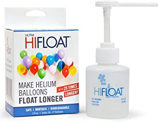 LA Balloons Hi-Float Solution, 5 oz, Transparent