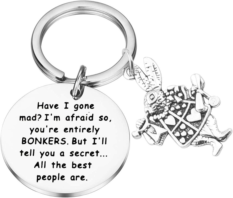 Lywjyb Birdgot Alice San Antonio Mall Nippon regular agency KeychainHave I Gone I'm You'r So Afraid Mad