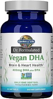 Garden of Life Dr. Formulated Vegan DHA 30 Softgels