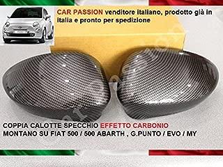 CALOTTA TAPPO COPRIVITI FIAT 500 CINQUECENTO 07 BASE SPECCHIO RETROVISORE DESTRA