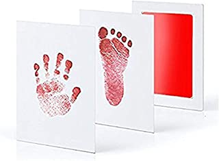 5 colors Baby bill form foot kit No ink touch Non-toxic and safe Baby Frame Souvenir Limb type Baby gifts For men and wome...