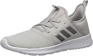 Women's Cloudfoam Pure Running Shoe, Raw Grey Tech Ink Core Black, 6.5 us