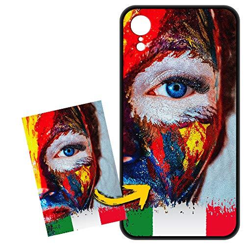 FarmyGadget Cover Apple iPhone XR Personalizzata Custom Case Custodia Morbida Soft TPU - Personalizzabile con Foto, Immagine, Testo, Loghi