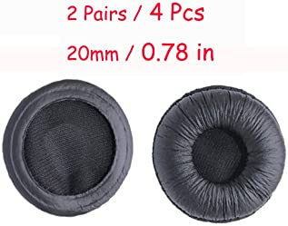 Bingle Ear Cushions Leatherette Spare Replacement for Plantronics Supra Plus Encore and Most Standard Size Office Tel...