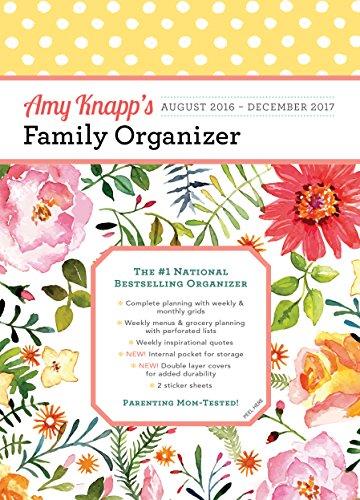 Download Amy Knapp Family Organizer 17-Month Calendar: August 2016-December 2017 1492634344