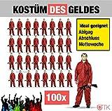 TK Gruppe Timo Klingler 100x Kostüm Haus des Geldes Kostüm Verkleidung Abigag Abitur Abistreich...