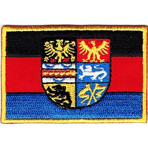 Everflag Patch zum Aufbügeln oder Aufnähen : Ostfriesland - klein