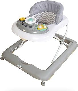 Andador para bebé modelo volante gris. Andador de actividades o tacatá