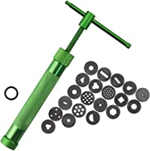 Stainless Steel Crowded Mud Machine Polymer Clay Extruder Craft Cake Sculpture Decorating Tool Set