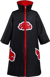 Kids 4th Hokage Cloak Jacket Robe Minato Namikaze Cape Kimono Anime Cosplay Costume Outfit