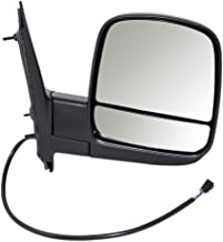 Passengers Power Side View Dual Mirror Glass Heated Replacement for Chevrolet Express GMC Savana Van 15227437 AutoAndArt