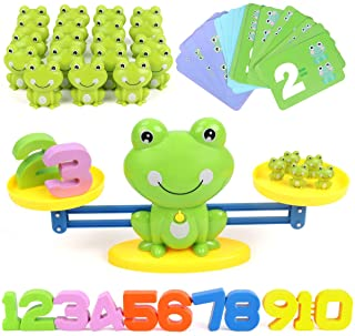 REMOKING Balance Math Toys Game for Kid,Toddler,Baby,STEAM Educational Learning Toys,Teaching&Student Counting Game Gift T...
