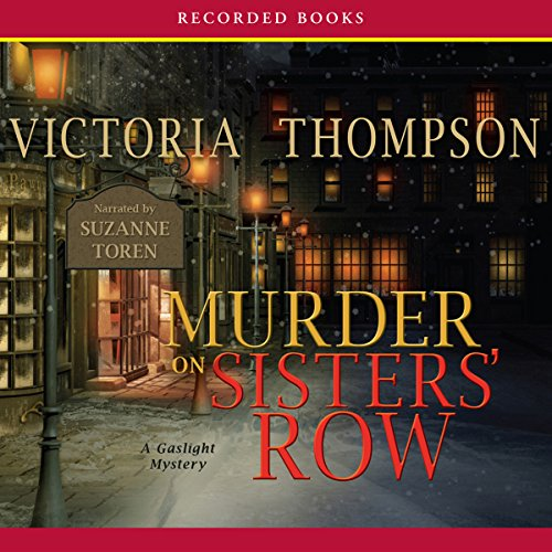 Murder on Sister's Row Audiobook By Victoria Thompson cover art