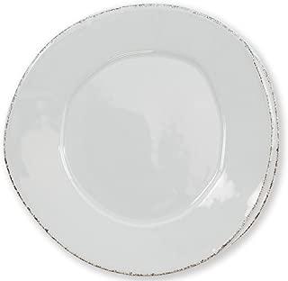 Vietri Lastra Light Gray Salad Plate