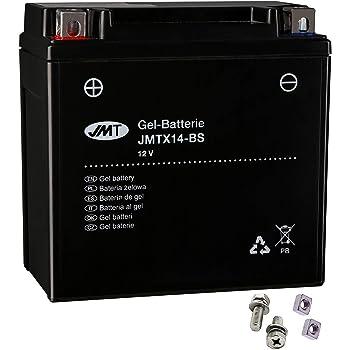 Gel-Batterie f/ür Yamaha XJ 600 S Diversion inkl 1998-2003 wartungsfrei Pfand /€7,50 Typ RJ01