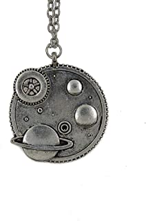 CHOP MALL Universe Galaxy Planet Pendant Jewelry Chain Necklace for Women Mum/Mother's Day/Mommy Birthday/Anniversary Gift