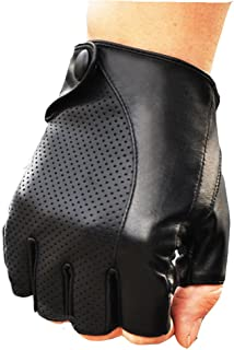 2018 NEW MEN'S PERFORATED WRIST SHEEPSKIN GENUINE LEATHER GLOVE DRIVING DAILY GLOVE