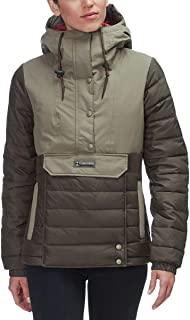 Columbia Women's PNW Norwester¿ II Jacket Peatmoss/Sage Large