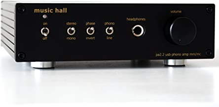 Music Hall pa2.2 MM/MC Phono Preamplifier with Analog to Digital Converter