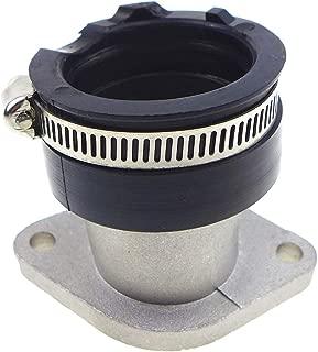 TIKSCIENCE Carburetor Intake Manifold Boot,Fit for Yamaha Bear Tracker YFM250X YFM250B YFM250XH Hunter Edition Kit with Throat Hoop and Gaskets 4XE-13586-00-00